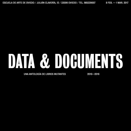 Data & Documenta - Una Antología de Libros Mutantes